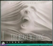 Gabriel Knight THE BEAST WITHIN by SIERRA PC Game Adventure CD-ROM