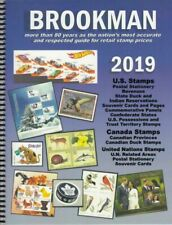 2020 Brookman Guide US Canada Un STAMPS Catalogue Spiral Bound 334 Pages
