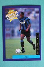 PANINI ESTRELLAS EUROPEAS 1996  N. 103 INTER INCE  MINT!!!