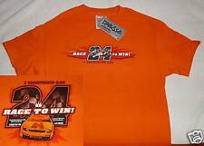 RACE TO WIN Orange  MEDIUM Short Sleeve T Shirt Kerusso Christian Apparel