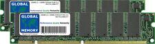 256MB (2 x 128MB) SDRAM PC66 66MHz 168-PIN DIMM MEMORY RAM KIT FOR DESKTOPS/PCS