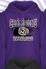 BALTIMORE RAVENS 2013 CHAMPIONS HOODY RAY LEWIS Superbowl Ring DESTINY Large/L