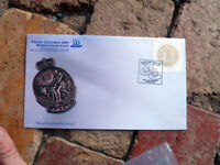2005 PACIFIC EXPLORER NEW ZEALAND ANZAC DAY COVER SPECIAL SLOUCH HAT POSTMARK