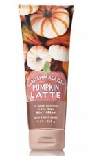 Bath and Body Works MARSHMALLOW PUMPKIN LATTE Ultra Shea Body Cream ~ 8 Oz