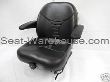 Michigan Seat, Black Highback Suspension Seat V5300 15980  #HE