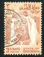 BAHRAIN 239 3 Dinar Used Top Value   (02)