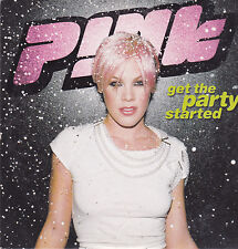 Pink-Get The Party Started cd single