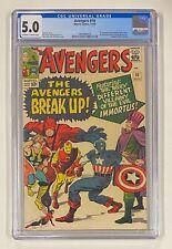 AVENGERS #10 Marvel Comics 1964 CGC 5.0 Immortus & Baron Zemo 1st Appearance
