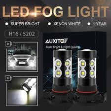 2X H16 5202 2400LM CREE LED DRL Fog Driving Light Bulb White for Chrysler Dodge