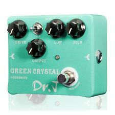 Dr. J D50 Green Crystal Overdrive Guitar Pedal w/ True Bypass