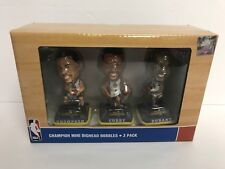 Golden State Warriors NBA CHAMPIONS Mini Bighead Bobbles Bobblehead Durant Curry