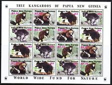 PAPUA NEW GUINEA — SCOTT 1049//1303 — WHOLESALE SETS/SHEETS — 9 SCANS — SCV $255