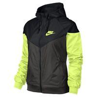 Nike WindRunner Women's Jacket Windbreaker DEEP PEWTER/BLACK/(VOLT) 545909 211