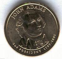 U.S.A. 1 Dolar John Adams 2007 D @ PRESIDENTE Nº 2 @