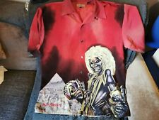 Iron Maiden Dragonfly shirt RARE! Killers Red