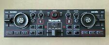 Numark DJ2GO2 2‑Channel Mini DJ Controller w. Audio Interface & Serato + Case