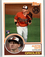 Austin Hays 2018 Topps Series 2 1983 TOPPS ROOKIE #83-5 Orioles RC