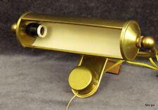 Art Deco Wandlampe Bilderlampe Bilderleuchte Messing 26 cm breit Bauhaus
