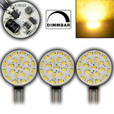 3x G4 1,4 Watt dimmbar 12V AC/DC warmweiß 120° LED Leuchtmittel Halogenersatz