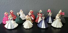 Lot of 16 Hallmark Barbie ornaments.Holiday, Collector editions and more