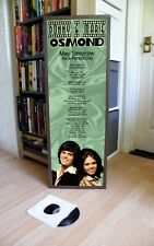 Donny & Marie Osmond May Tomorrow Promotional Poster Lyric Sheet,Pop Rock,