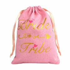 Bride Tribe Hangover Kit Bags Wedding Bachelorette Party Guest Canvas Gift Bags