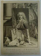 Jacobus HOUBRAKEN (1698-1780) CORNELIS TROOST - AMSTERDAM - KONST SCHILDER