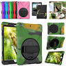 Defender Rotating Shockproof Armor Case Cover For Apple iPad Mini Air 1 2 3 4