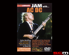 LICK LIBRARY JAM WITH ACDC VOLUME 1 GUITAR DVD & CD 7 CLASSIC TRACKS