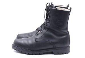PANAMA JACK Herren Stiefel Boots EUR 44 UK 10 Schwarz Echt Leder Wolle Gefüttert