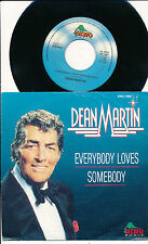 "DEAN MARTIN 45 TOURS 7"" HOLLANDE EVERYBODY LOVES SOMEBODY"