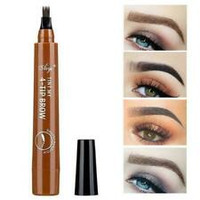 4-Tip Liquid Eyebrow Pencil Tattoo Pen Waterproof Long-Lasting Makeup B2G0