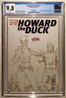 HOWARD THE DUCK #1 Variant LIM Sketch Cover 1st GWENPOOL CGC 9.8🔥Avengers 4 7 9