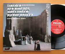 PHILIPS 6527 115 Wagner DER Anello scene Pierre BOULEZ Bayreuth LIVE NM/EX