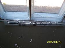 1957 57 Chevrolet Emblem Script Chrome V8 Hood Trunk New Repop Restore Hot Rod