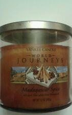 YANKEE CANDLE WORLD JOURNEYS MADAGASCAR SPICE 12 OZ RARE AND AWESOME
