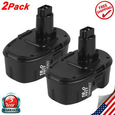 DC9096 For Dewalt 18V XRP Ni-CD DW9096 DW9095 DC9099 DW9098 18Volt Battery 2Pack