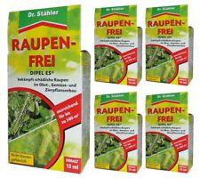 Oleanderhof® Sparset: 5 x DR. STÄHLER Dipel ES Raupenfrei, 15 ml + gratis Oleand