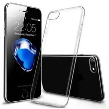 HANDY HÜLLE Für iPhone 7 Tasche Silikon Case Schutz Cover Transparent Klar Clear