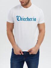 Herren T-Shirt 'Logo' Premium Streetwear by Chiccheria Brand, Gr. XL, weiß
