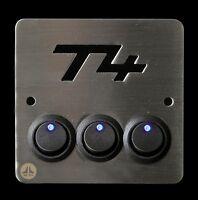 VW T4 Campervan 12v 16a triple light switch