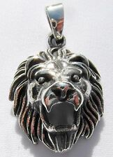 Sterling Silver (925)  Lion  Pendant    (6 Grams)  !!       Brand  New !!