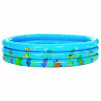Trespass Belly Flop Kids Paddling Pool Garden Family Summer Inflatable 120x30 cm