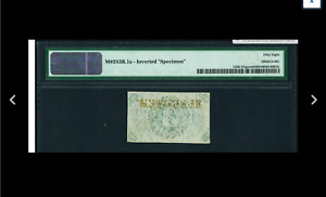 INVERTED Fr. 1226SP 3¢ Third Issue Narrow Margin Back PMG Choice About Unc 58.