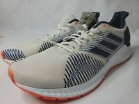 Adidas Solar Blaze Mens Running Athletic Shoes Size 10 Cream Blue New F34547
