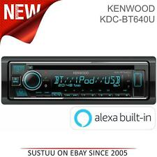 Kenwood Car Stereo Media Player│CD/USB-Receiver│Bluetooth│MP3-Radio│Amazon Alexa