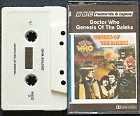 Doctor Who- Genesis Of The Daleks (Cassette Tape) 1983 BBC RARE British SciFi