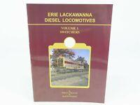 Erie Lackawanna Diesel Locomotives Vol. 1 by Liljestrand & Sweetland SC Book