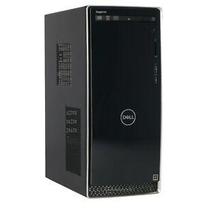 6/12-Core Dell Inspiron 3670 Intel Core i7 9700 + SSD 1TB Nvidia Geforce Quadro