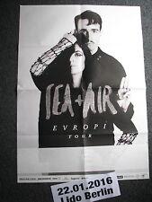 Konzertposter-Sea + Air-Evropi Tour-22.01.2106 Berlin-Konzertplakat-Poster